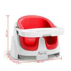 Ingenuity High Chair 3 In 1 Cover Papasan Etsy Baby Base 2 Booster Seat Poppy Red K10868