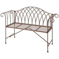 Esschert Design Garden Bench Metal Old English Style MF009 ...
