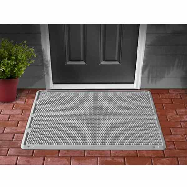 WeatherTech Outdoor Door Mat 76x122 cm Grey ODM2G | vidaXL ...