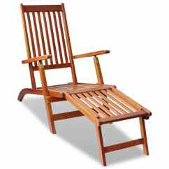 Outdoor Folding Chair With Footrest Loveseat And Set Deck Acacia Wood Vidaxl