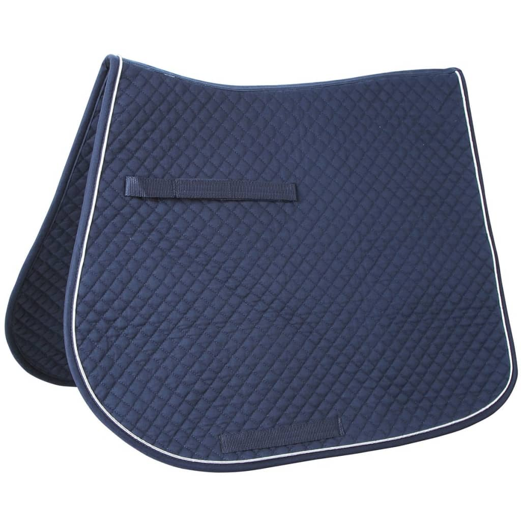 horse saddle office chair rocking swing kerbl multipurpose pad classic navy 323810 | vidaxl.co.uk