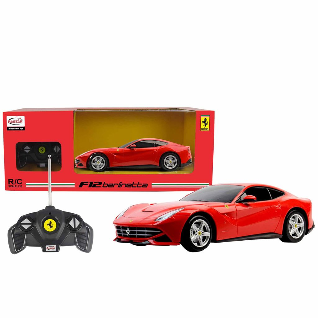ferrari office chair uk cover hire great yarmouth rastar radio controlled car f12 1 18 red 53500