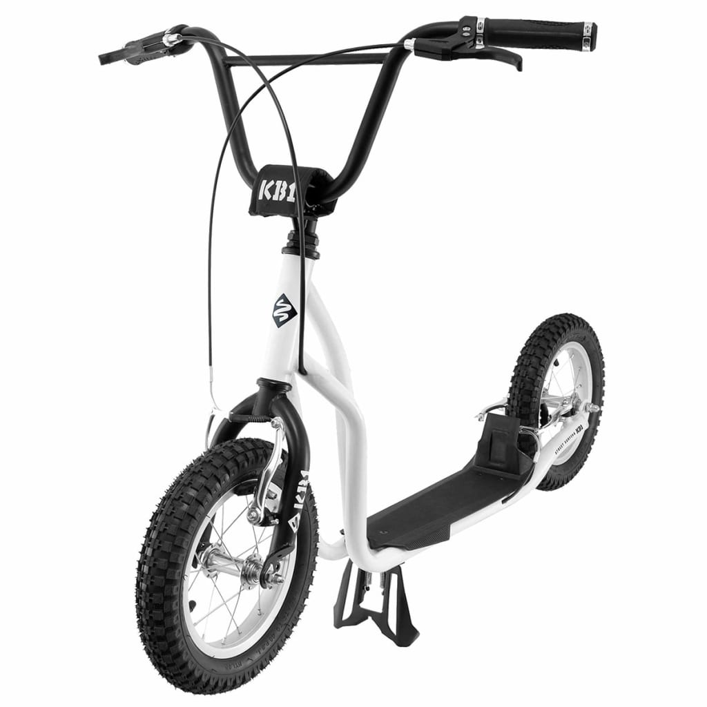 Street Surfing Scooter K-Bike KB1 Weiß und Schwarz 12-01