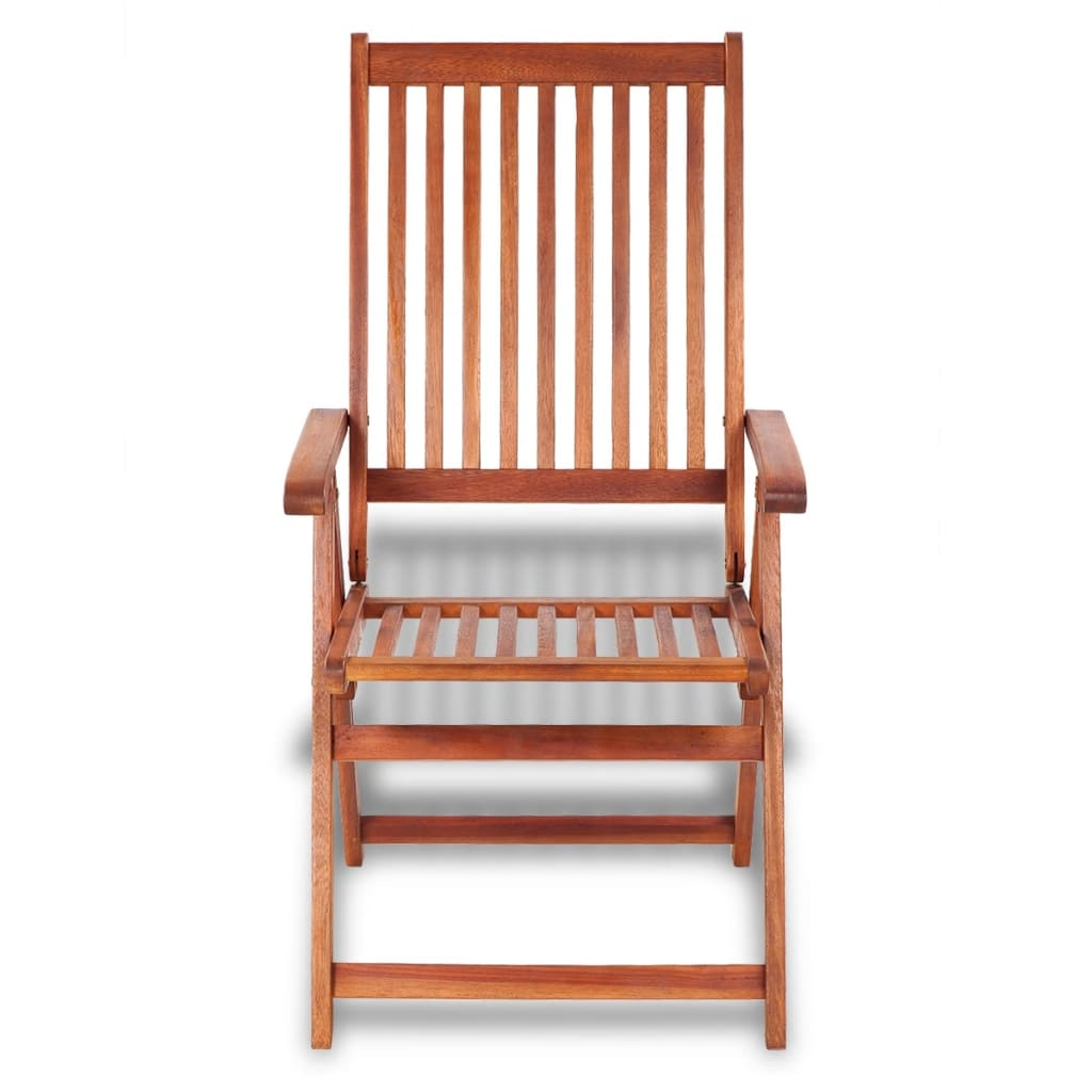 outdoor restaurant chairs folding chair tesco vidaxl dining 2 pcs acacia wood co uk