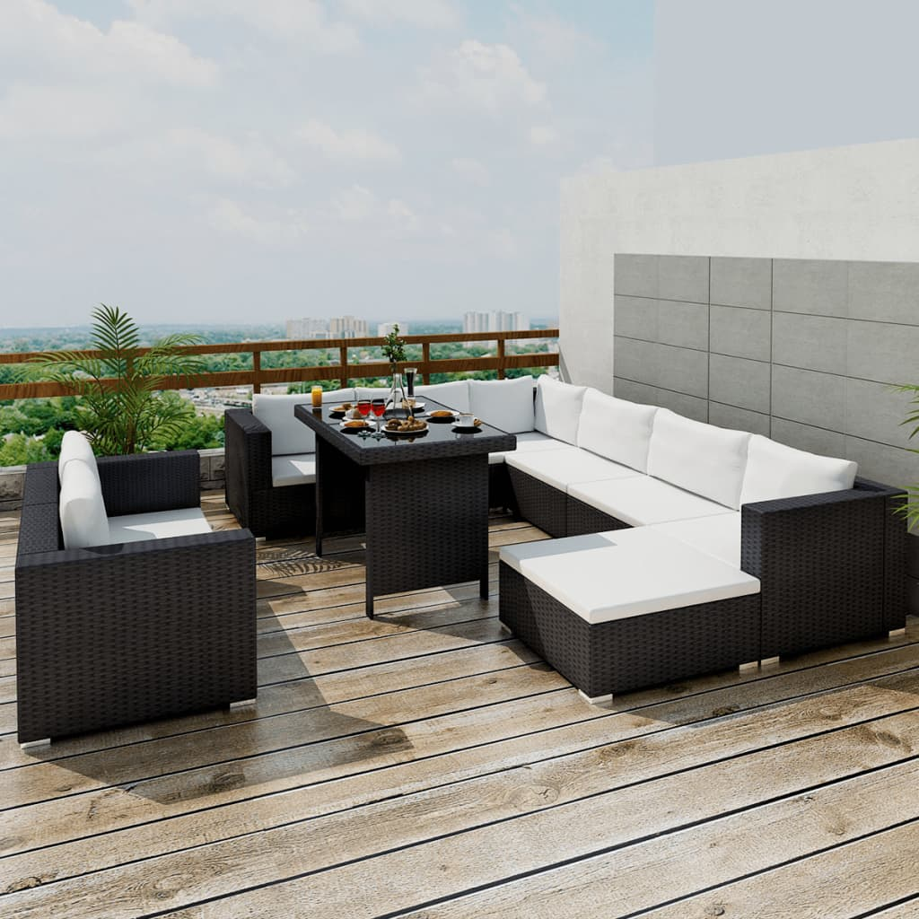 Outdoor Rattan Sofa Outdoor Sectional Furniture Wicker Patio Rattan Sofa Set