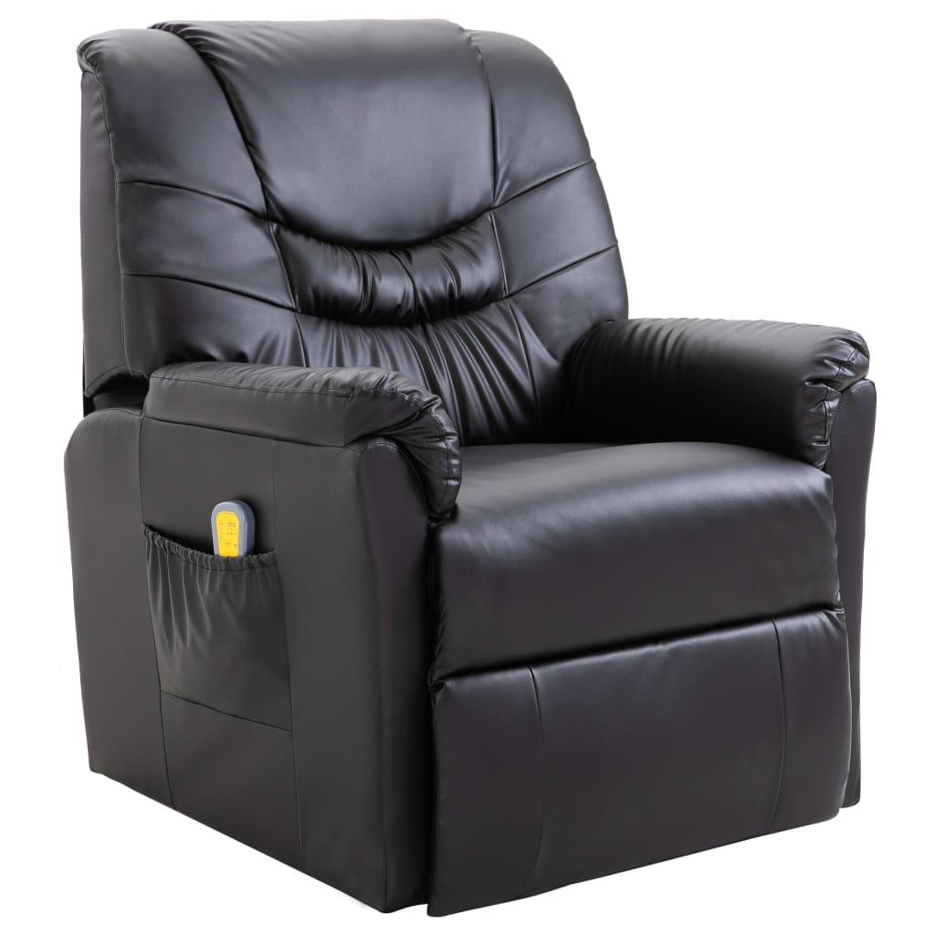 black massage chair zulily covers vidaxl au