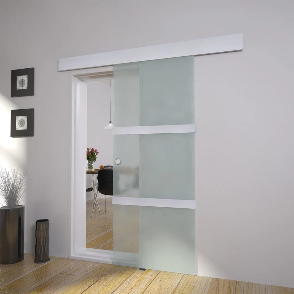 Glass Sliding Door  vidaXLcouk