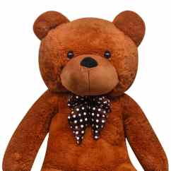 Affordable Chair Covers Two Seat Swing Xxl Soft Plush Teddy Bear Toy Brown 150 Cm | Vidaxl.co.uk