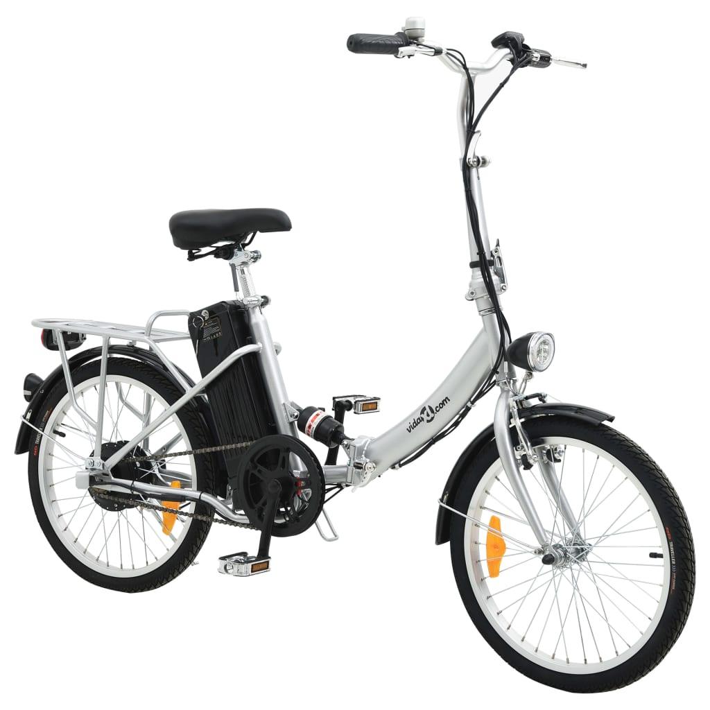 Bicicletta elettrica pieghevole batteria ioni litio in