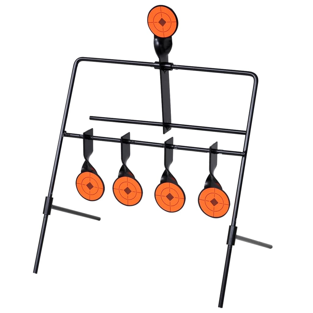 Auto Reset Spinner Shooting Target With 4 1 Targets