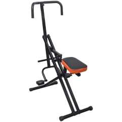 Chair Gym Exercise Book The Most Comfortable Folding Abdominal Horse Riding Machine Black