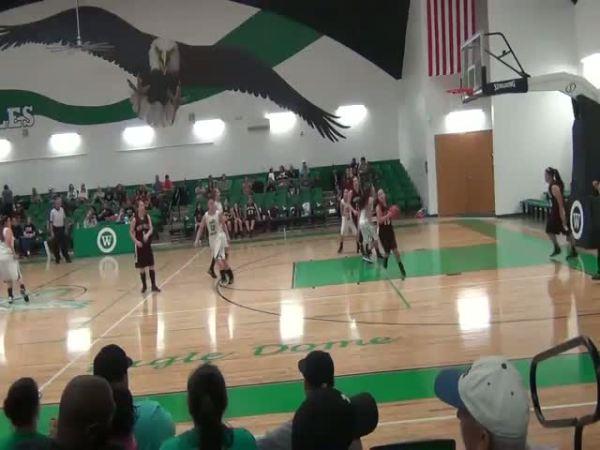Agua Dulce TX Girls Basketball highlights vs Woodsboro
