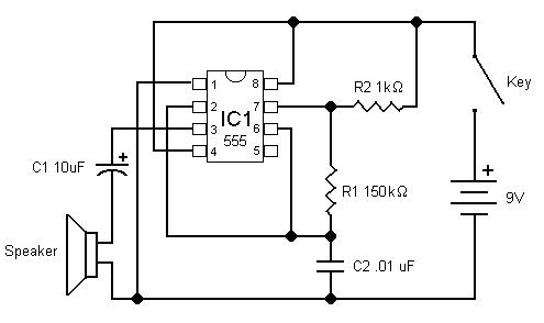 555 Code Oscillator