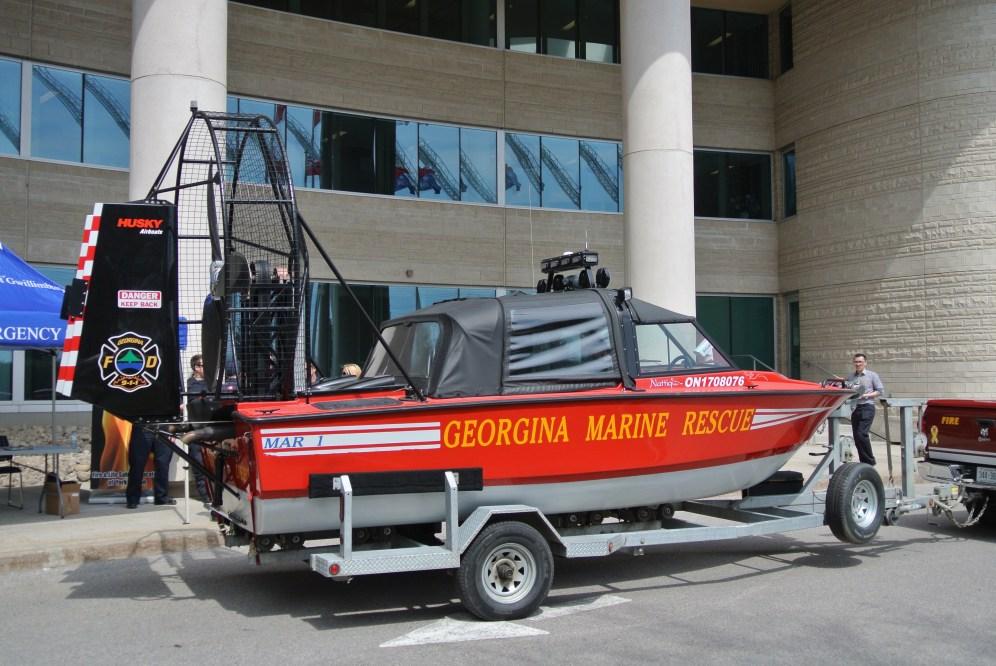The famous Marine Rescue Unit