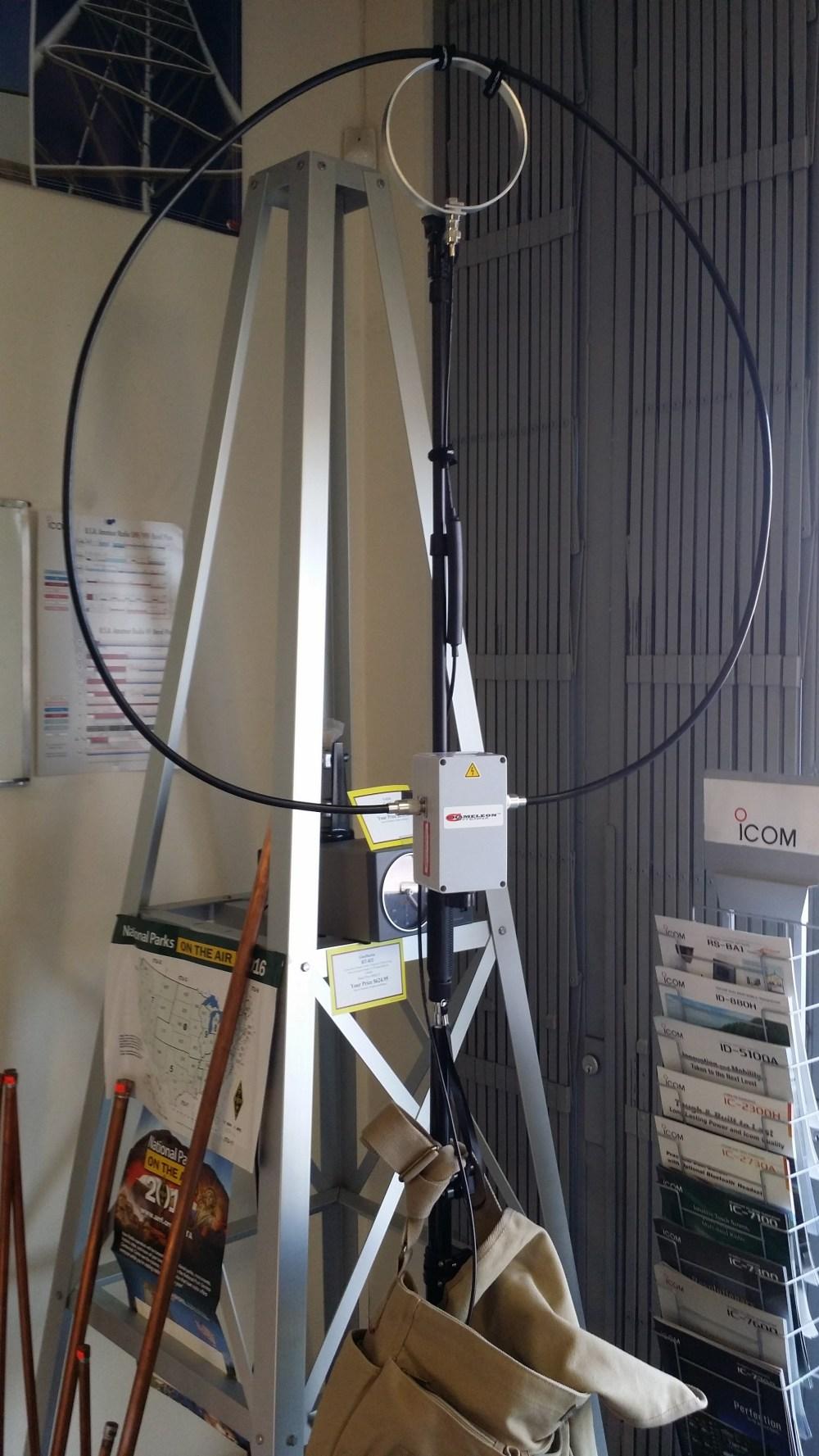 Diy Magnetic Loop Antenna Part 3 - Year of Clean Water