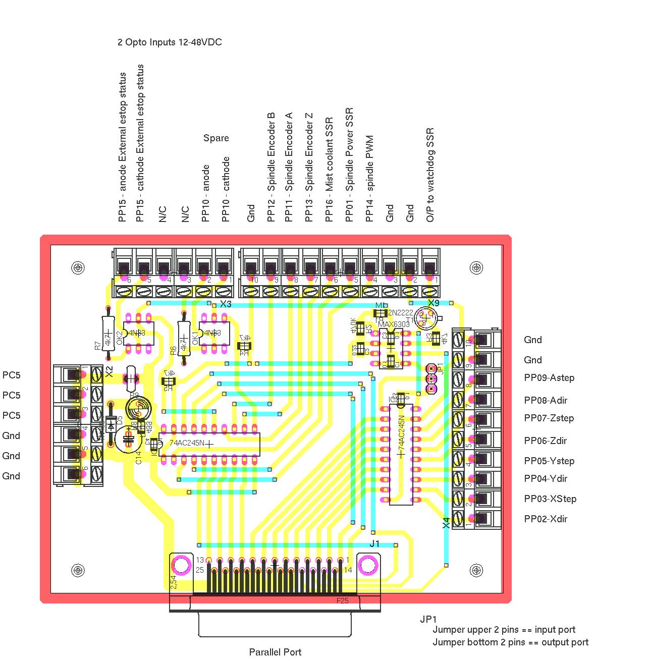 5 axis cnc breakout board wiring diagram 2005 f150 diagrams