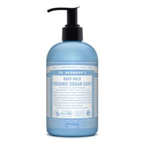 BABY UNSCENTED - organic sugar soap - Dr. Bronner's