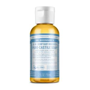 BABY UNSCENTED - săpun lichid - Dr. Bronner's 60