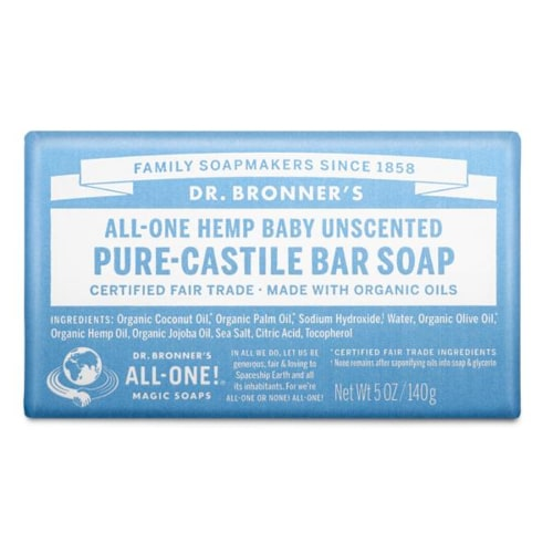 BABY UNSCENTED - săpun pur - Dr. Bronner's