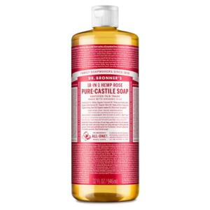 ROSE SCENTED - săpun lichid - Dr. Bronner's 945