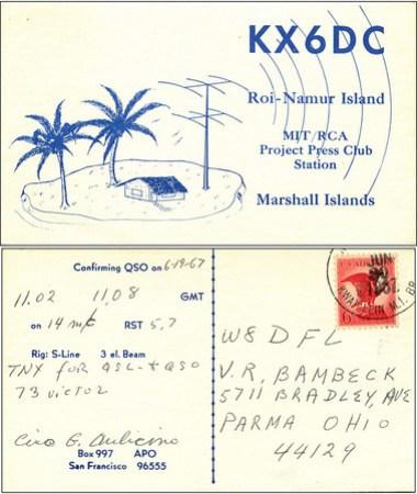 KX6DC QSL Card
