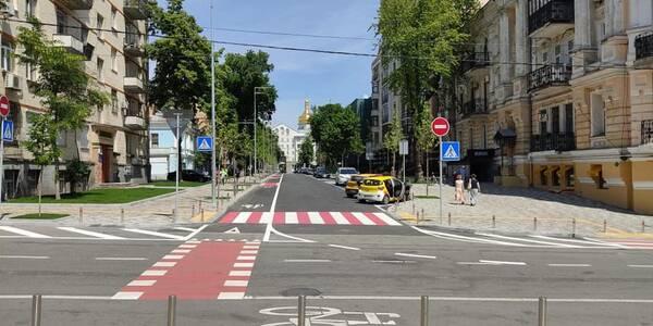 У центрі столиці облаштували важливу велодоріжку