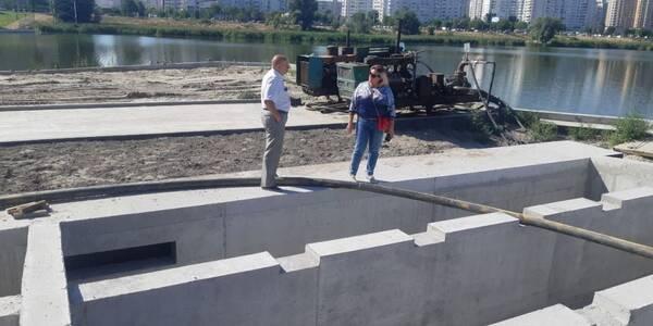 В озеро Лебедине не будуть скидати забруднену воду з вулиць