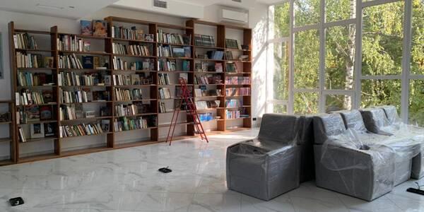 У Шевченківському районі відкриють оновлену бібліотеку