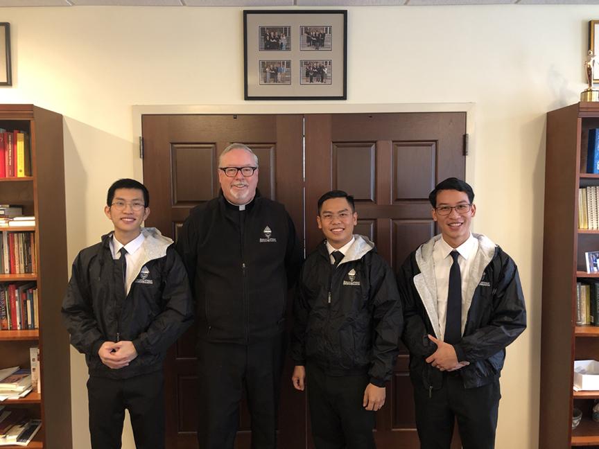 Vietnamese seminarians