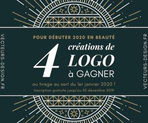 Vecteurs de Design : 4 logos à gagner