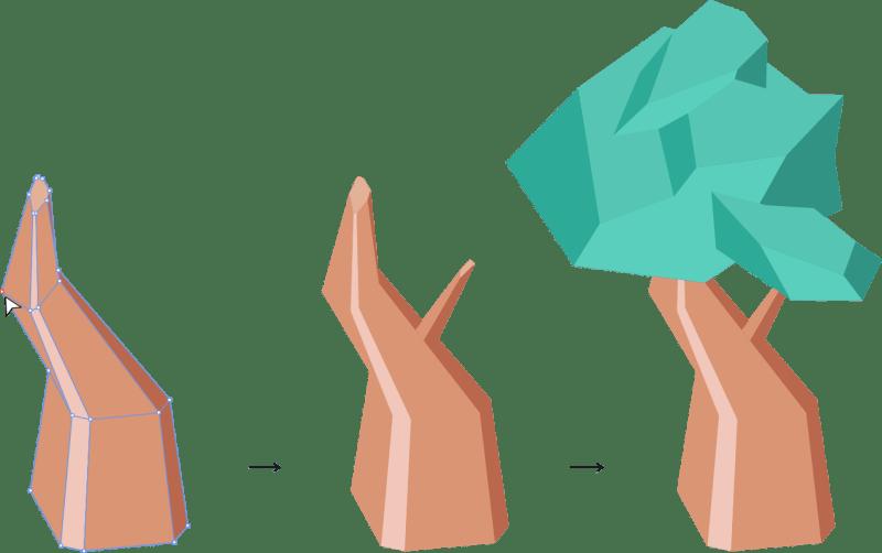 Tuto Affinity Designer : Combiner les formes basiques pour construire des objets complexes (2)
