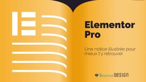 Notice d'utilisation Elementor Pro