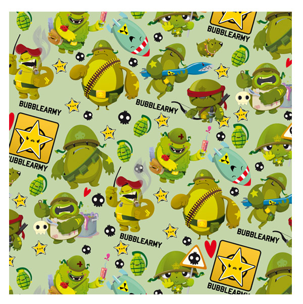BUBBLEARMY Pattern by Bubblefriends