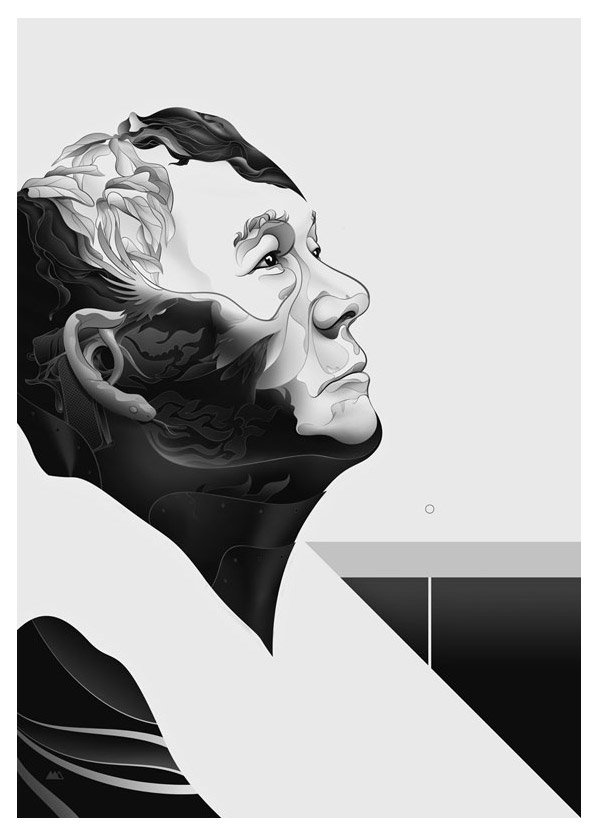 Kitano Portrait by Martin Ansin