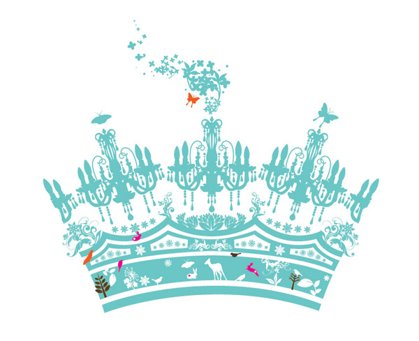 vector crown hierarchy by boo!berry