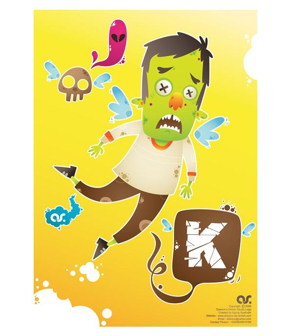 """Flying """"K"""" by Agung Syaifudin"""