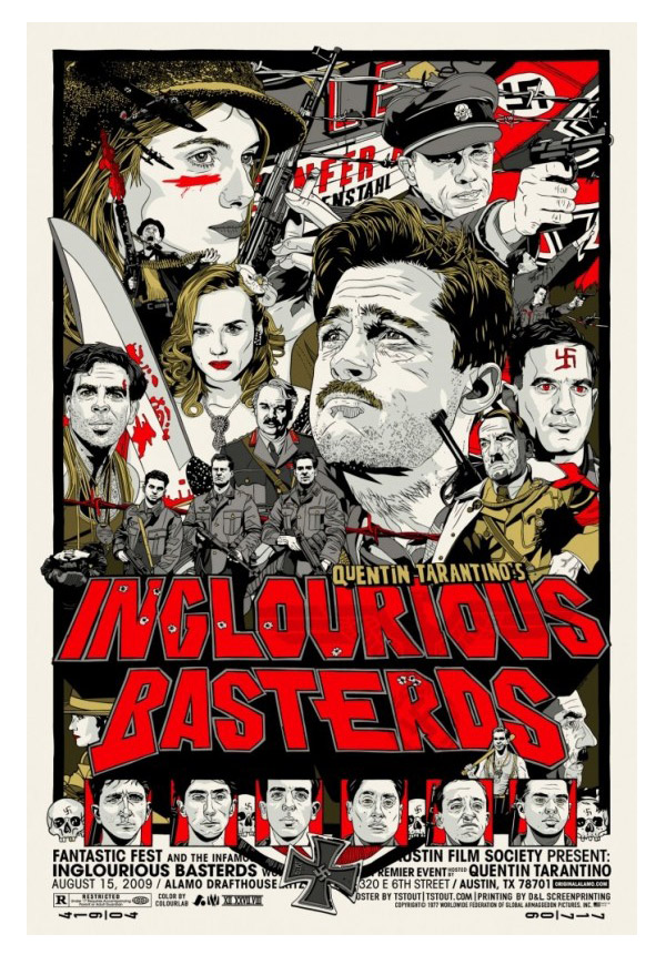 Inglourious Basterds by Tyler Stout