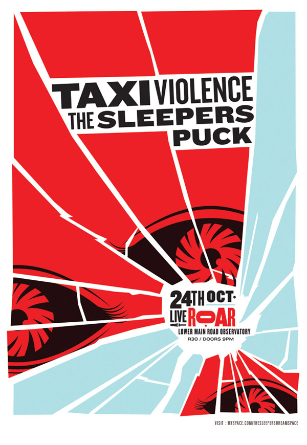 The Sleepers - Taxi Violence -The Eyes by Adam the Velcro Suit