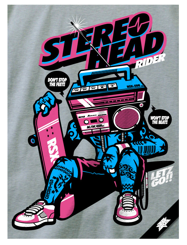 StereoHeadRider by san@ce