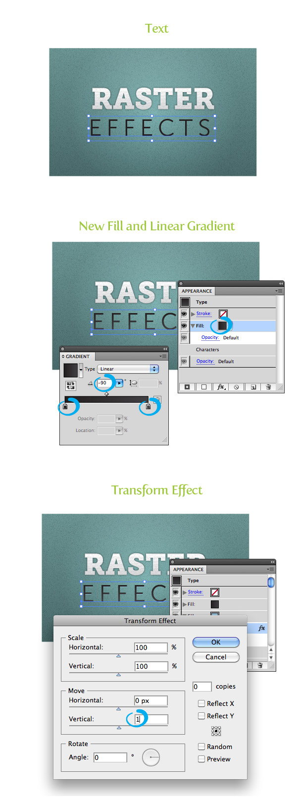 Raster Texture Step 10