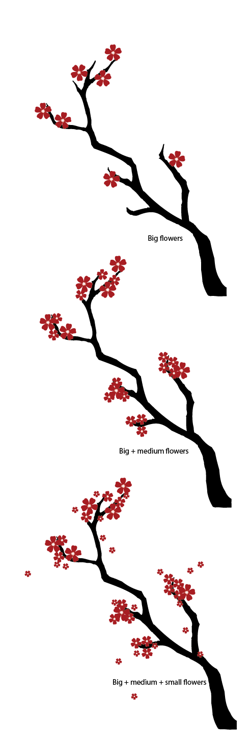 diagram the parts of cherry blossom tree 1990 honda accord tail light wiring create a japanese scene new document