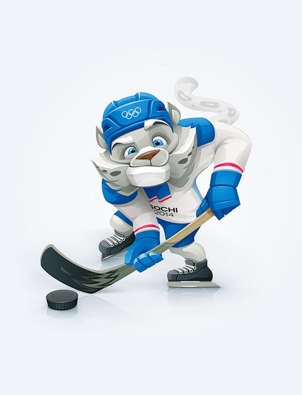 Olympic mascots by Alina Ivanova