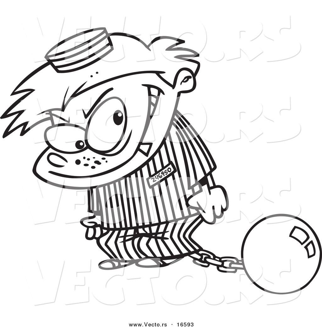 Free Coloring Page Paul In Prison