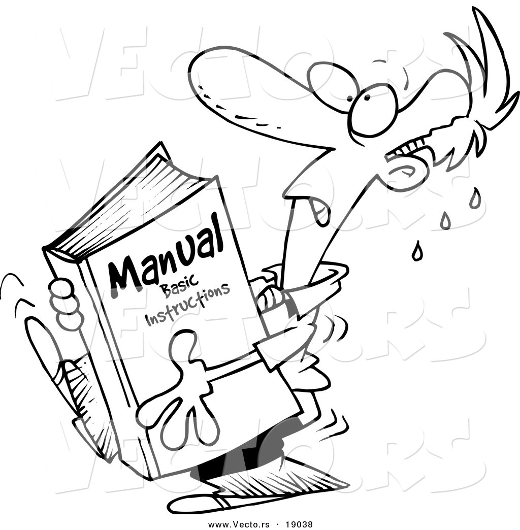 Instruction Manual Clip Art