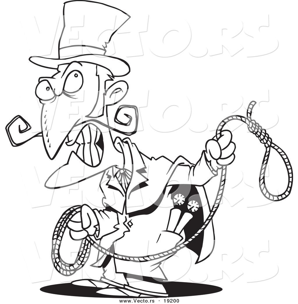 Evil Cartoon Dentist