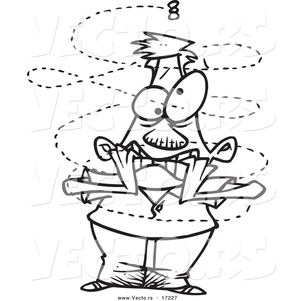 Line Art Nuts And Bolts Sketch Coloring Page