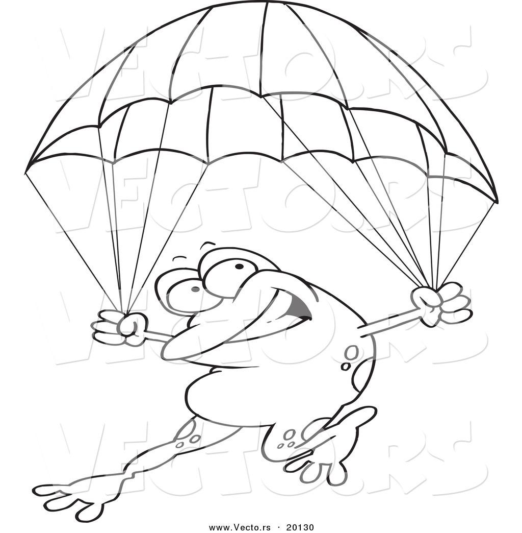 Royalty Free Parachute Stock Designs