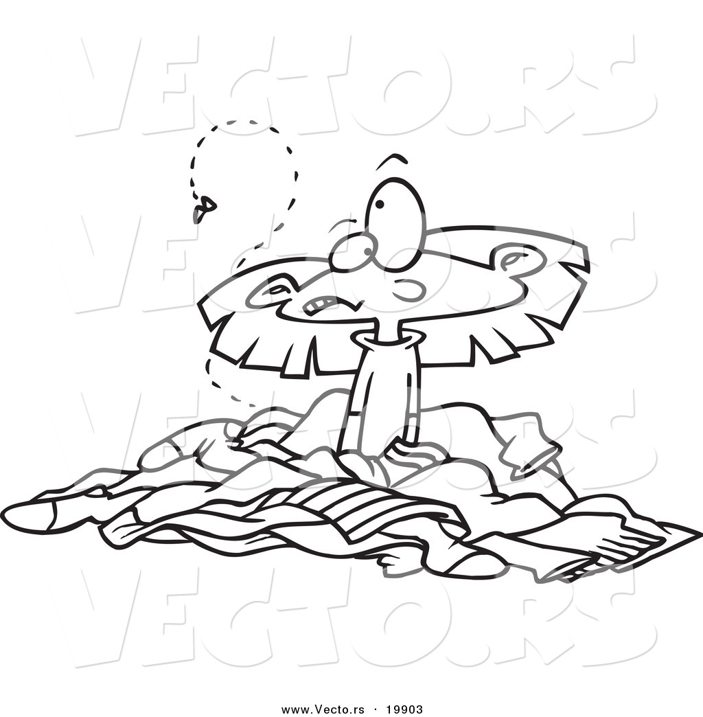Messy Room Coloring Pages