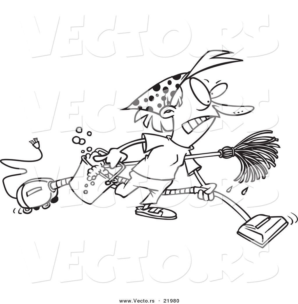 Vacuum Coloring Pages