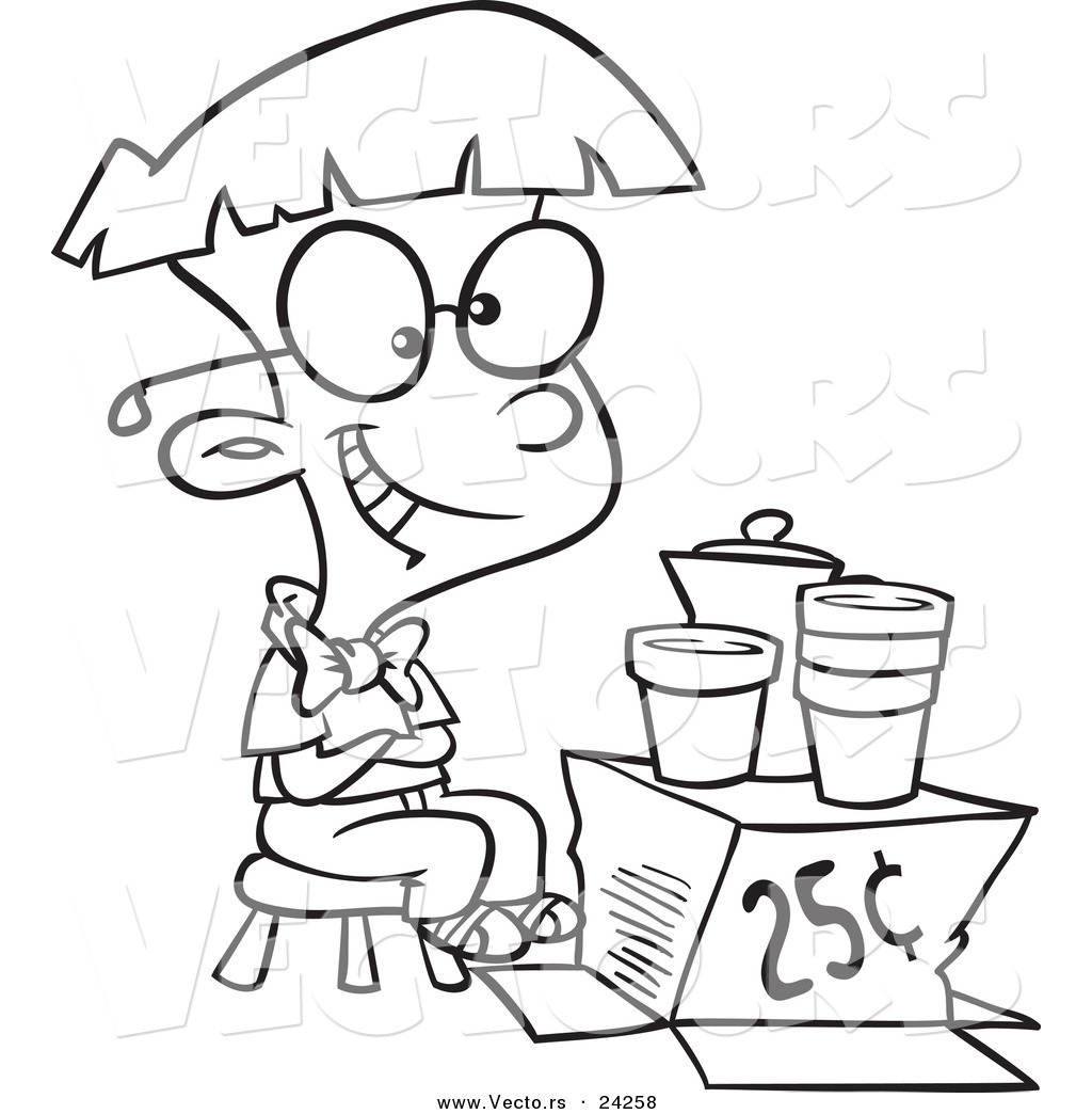 Free Lemonade Coloring Pages